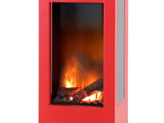 prism fire Opti-myst (heat): modern  von muenkel design - Elektrokamine aus Großentaft,Modern