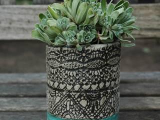 Blumentöpfchen von Kunst und Keramik Landhaus