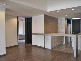 APARTAMENTO 104 Salas de estilo minimalista de ESTUDIO DUSSAN Minimalista