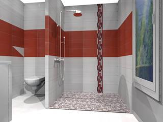 Illustrations de salle de bains par 3 CUB