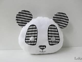 Coussin Noa le Panda:  de style  par LoKee
