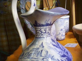 ceramiche ed incisioni di Chiara Speroni architetto Classico