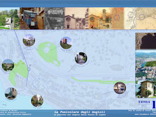 Elementi urbanistici fondamentali a Lugano: Case in stile  di Chiara Speroni architetto