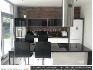 Casa El paso IV Modern Mutfak ARRILLAGA&PAROLA Modern