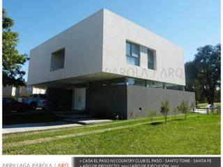 Casa El paso IV Modern houses by ARRILLAGA&PAROLA Modern