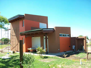 Vivienda Unifamiliar R+B: Casas de estilo moderno por BBADM estudio de arq
