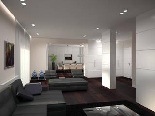 Lavori Salas de estilo moderno de Mezzettidesign Moderno