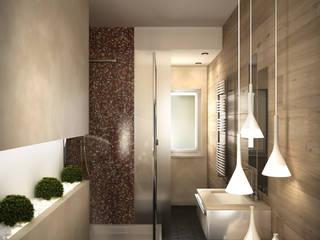 Lavori: Bagno in stile in stile Moderno di Mezzettidesign