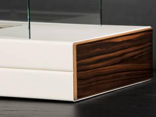 Plain Fire: modern  von muenkel design - Elektrokamine aus Großentaft,Modern