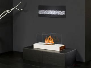 Plain Fire de muenkel design - Elektrokamine aus Großentaft Moderno