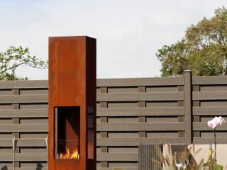 Prism Fire L: modern  von muenkel design - Elektrokamine aus Großentaft,Modern