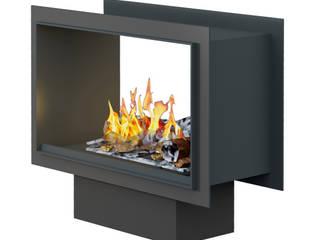 Tunnel Fire: modern  von muenkel design - Elektrokamine aus Großentaft,Modern
