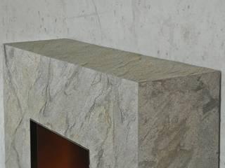 Vulcano de muenkel design - Elektrokamine aus Großentaft Moderno
