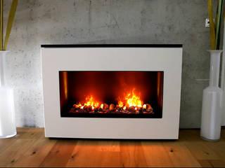 Wall Fire de muenkel design - Elektrokamine aus Großentaft Moderno