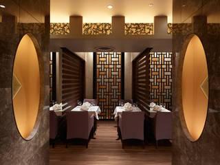 Chinese Restaurant SHAHODEN 和風デザインの 多目的室 の 株式会社オムド 和風