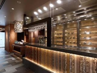 Chinese Restaurant SHAHODEN: 株式会社オムドが手掛けたワインセラーです。,和風