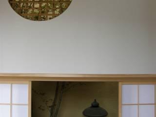 坪庭の風景 モダンデザインの テラス の 庭匠 風彩 モダン