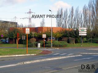 Surélévation de 430 m2 d'un bâtiment de bureaux,Création d'un bâtiment passif Toulouse par Ranque 3D Design architecture interieur & D&R maîtrise d'oeuvre