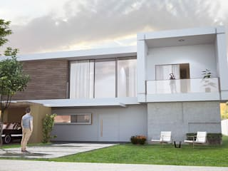Maison en cube par Ranque 3D Design architecture interieur & D&R maîtrise d'oeuvre