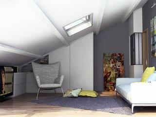 Rénovation d'un mazet de 50 m2 passé à 55m2 par Ranque 3D Design architecture interieur & D&R maîtrise d'oeuvre