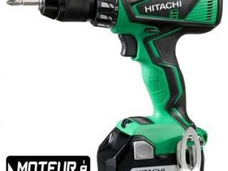 Hitachi - Perceuse visseuse 13 mm 18 V + 1 batterie:  de style  par Batiwiz SAS