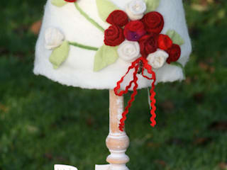 Tischlampe mit Rosen:   von Rosenfilz