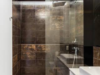 Our photoshoot of apartment design by Decoroom Architects 1 Nowoczesna łazienka od homify Nowoczesny