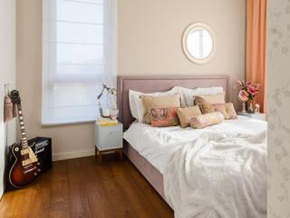 Ayuko Studio Dormitorios de estilo clásico Beige