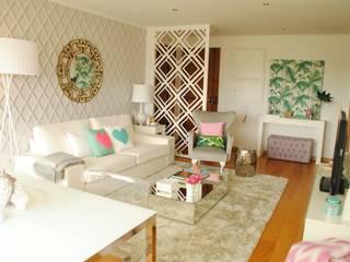Salon moderne par White Glam Moderne
