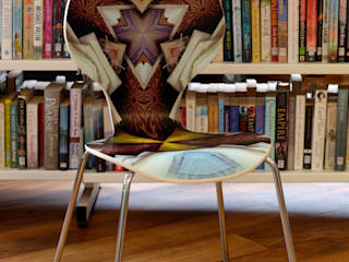 'Out of Place' Library Project Chairs, Tooting Library: modern  by Sam Haynes, Modern