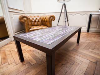 Table basse May par Cercus Marqueterie Industriel