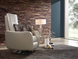 Rimini Baustoffe GmbH Living room Wood