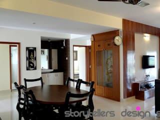 Storytellers Design Studio Modern dining room