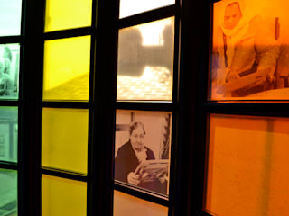 'Out of Place' Photo Installation:  Windows  by Sam Haynes