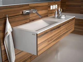 Nowoczesna łazienka z produktami od Luxum Nowoczesna łazienka od Luxum Nowoczesny