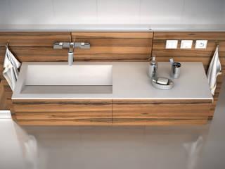 Modern bathroom by Luxum Modern