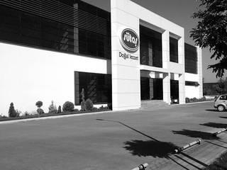 EKS Mimarlık – Sütaş Bursa Bölge Müdürlüğü Binası:  tarz Ofis Alanları