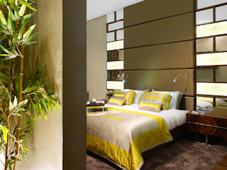 Susana Camelo Modern style bedroom Yellow