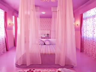 Susana Camelo Nursery/kid's room Pink