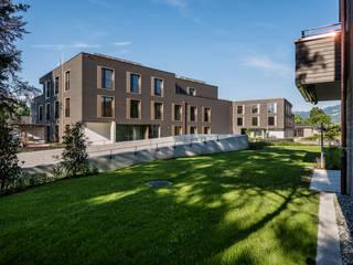 Giesser Architektur + Planung Casas modernas Madera Ámbar/Dorado