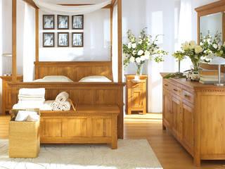 Nachtschrank | Massivholzmöbel: minimalistische Schlafzimmer von Massiv aus Holz