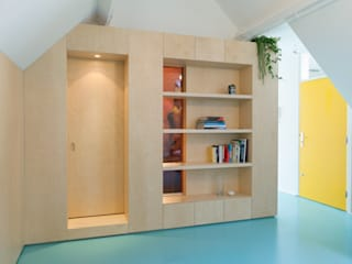 Bureau Fraai 现代客厅設計點子、靈感 & 圖片
