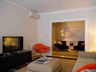 CONVENTO DOS INGLESINHOS Salas de estar modernas por armazem de arquitectura Moderno