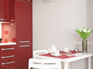 Scandinavian style kitchen by senzanumerocivico Scandinavian