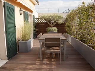 Balcones y terrazas eclécticos de L'esprit au vert Ecléctico