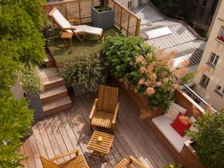 Balcones y terrazas modernos: Ideas, imágenes y decoración de L'esprit au vert Moderno