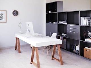 Рабочие кабинеты в . Автор – SALA VISCOM, Модерн