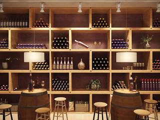 Bars & clubs de style  par SALA VISCOM,