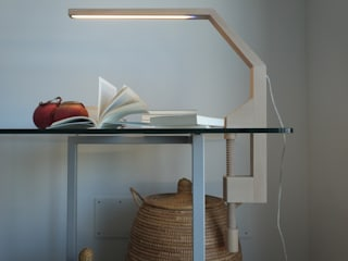 LAMP LED mod. VIDUN Frigerio Paolo & C. Living roomLighting Wood Transparent