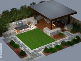 Projekt ogrodu w Anglii: styl , w kategorii  zaprojektowany przez R.K. Architektura Krajobrazu